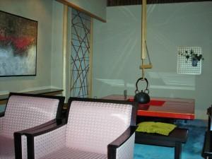 Lounge in Hotel Sun Members Kyoto-Saga
