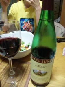 Non-alcoholic German wine