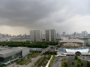 View from Ariake Washington Hotel