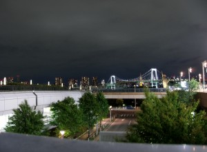 Night Rainbow bridge