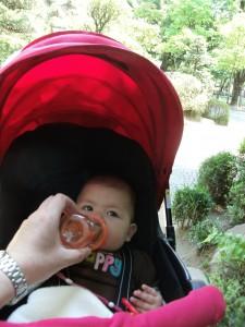 Mariya drinking