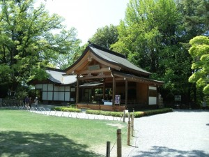 Noh theater in Takeda Shrine