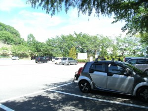 Parking lot of Tomi no Oka