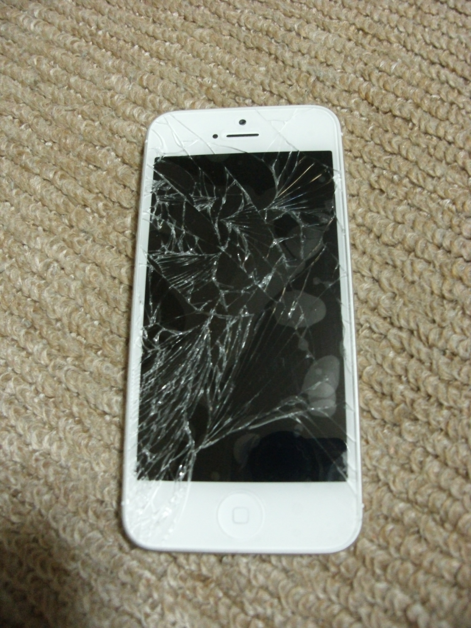 how to use an iphone screen when broken