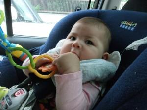 Mariya in car