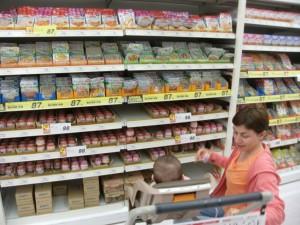 Babies' foods at Nishimatsuya