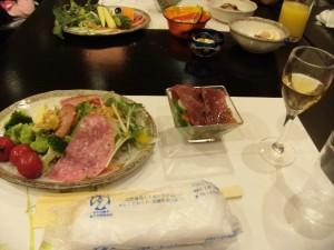 Buffet at Yumura Hotel