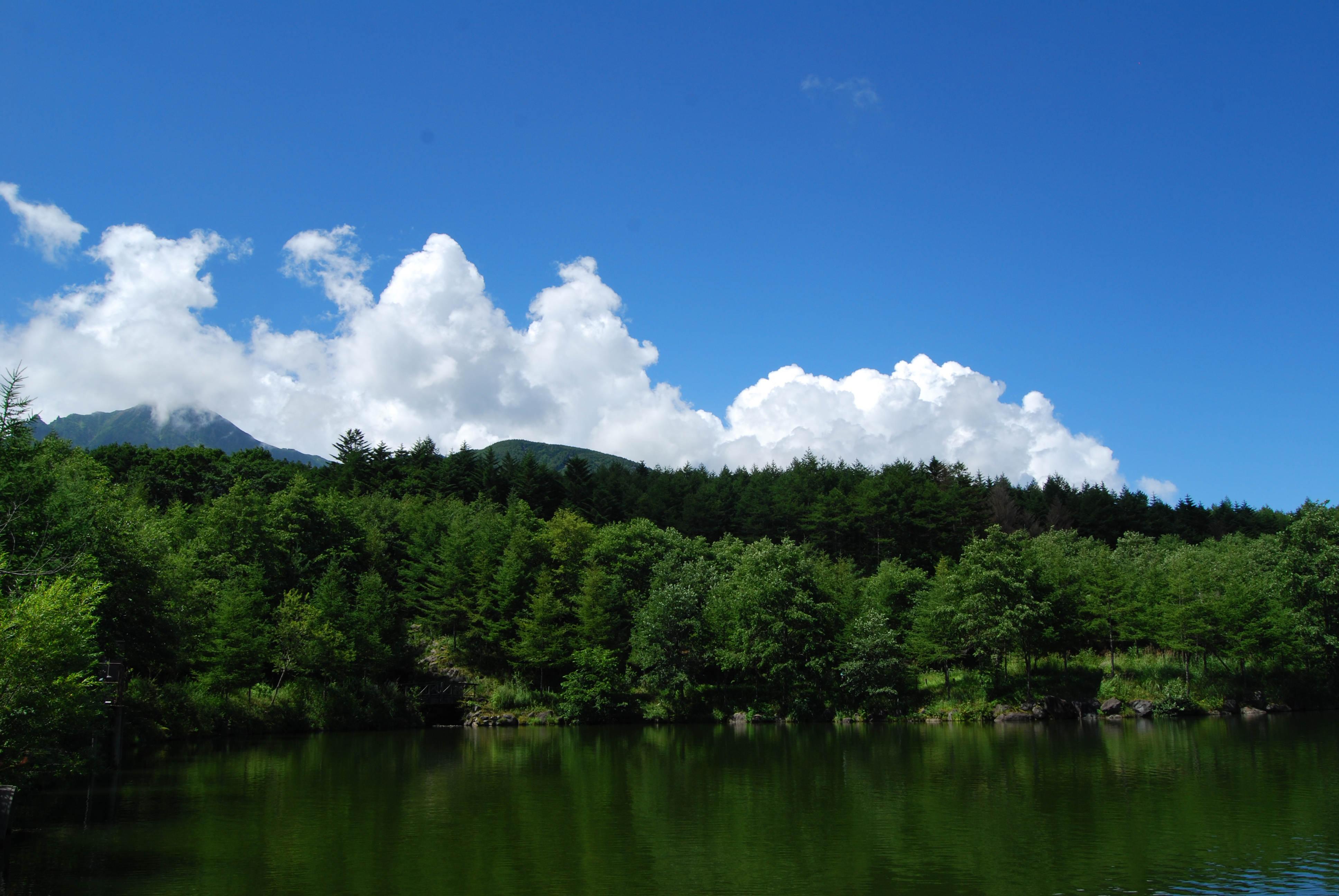 Lake near Sun Meadows, Kiyosato, Yamanashi, Japan